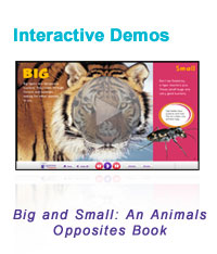 Big & Small Interactive Book screen-shot