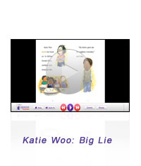 Katie Woo Interactive Book Screen-Shot