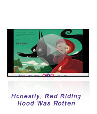 Red Riding Hood Interactive Book Screen-Shot
