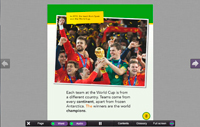 All About the World Cup Interactive Book Screen-Shot